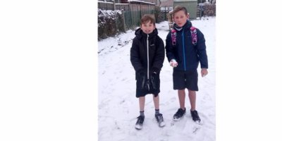 Orchard pupils undertake a Winter Short Challenge to raise money for the Joseph Cooper Trust!